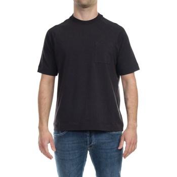 Abbigliamento Uomo T-shirt maniche corte Alpha Studio AU-4403 1207 NER Nero