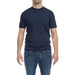 Abbigliamento Uomo T-shirt maniche corte Alpha Studio AU-4480C 1269 BLU N Blu Scuro