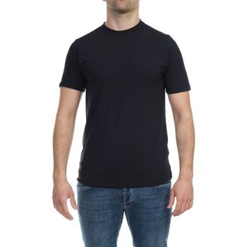 Abbigliamento Uomo T-shirt maniche corte Alpha Studio AU-4480C 1270 NER Nero