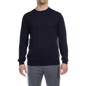 Abbigliamento Uomo Maglioni Hosio IUS20100M01 40 BLU Maglia Uomo Uomo Blu Blu