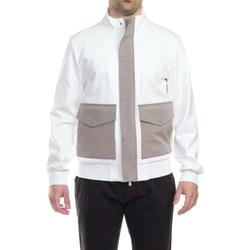 Abbigliamento Uomo Giubbotti People Of Shibuya KOBE PF711 008 BIA Giubbino Uomo Uomo Bianco Bianco