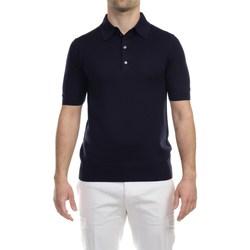 Abbigliamento Uomo Polo maniche corte Hosio 110M11/40 BLU Polo Uomo Uomo Blu Blu