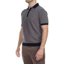 Abbigliamento Uomo Polo maniche corte La Fileria 43163/20742/880 NLU Polo Uomo Uomo Blu Blu