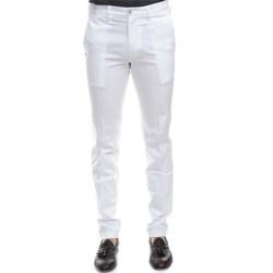 Abbigliamento Uomo Chino Re-hash MUCHA 2389 0000 BIA Pantalone Uomo Uomo Bianco Bianco