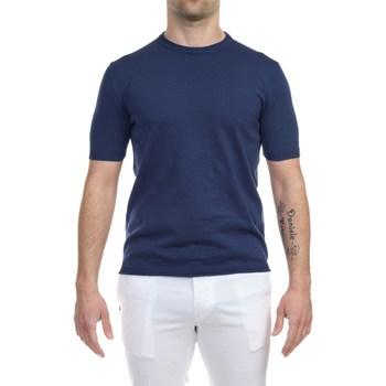 Abbigliamento Uomo T-shirt maniche corte L.b.m. 1911 09128/5 5386 BLU T-shirt Uomo Uomo Bluette Bluette