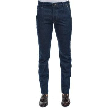 Abbigliamento Uomo Jeans dritti Hand Picked PARMA02309W1 LAV1 Jeans Uomo Uomo Blu Scuro Blu Scuro