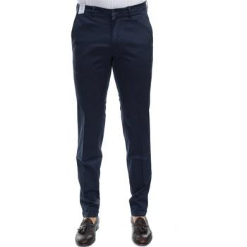 Abbigliamento Uomo Pantaloni 5 tasche Re-hash P249 2389 MUCHA 4002 Pantalone Uomo Uomo Blu Blu