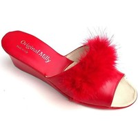 Scarpe Donna Ciabatte Milly 102M ROSSO