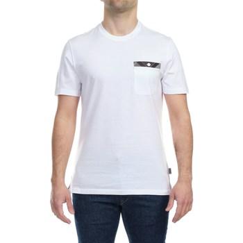 Abbigliamento Uomo T-shirt maniche corte Barbour MTS0682WH11 T-shirt Uomo Uomo Bianco Bianco