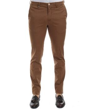 Abbigliamento Uomo Pantaloni 5 tasche Barbati ANTONY 571/53 COGNAC Pantalone Uomo Uomo Cognac Cognac