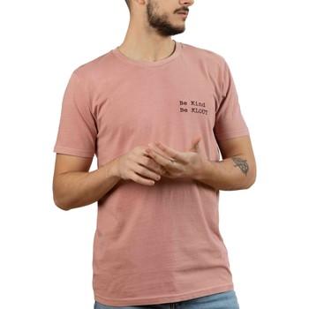 Abbigliamento Uomo T-shirt maniche corte Klout  Rosa