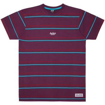 Abbigliamento Uomo T-shirt maniche corte Jacker Rtk stripes Viola