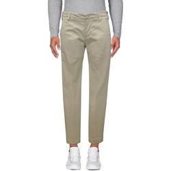 Abbigliamento Uomo Chino Entre Amis Pantalone in rasatello - Bianco