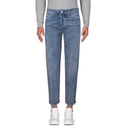 Abbigliamento Uomo Jeans slim Entre Amis Jeans lavaggio chiaro - Blu