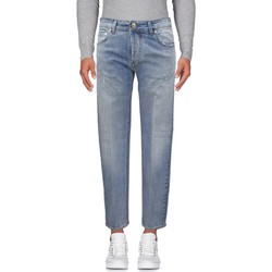 Abbigliamento Uomo Jeans dritti Entre Amis Jeans lavaggio chiaro - Blu