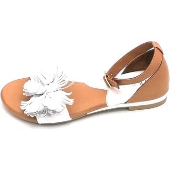 Scarpe Donna Sandali Tiurai Pack Cuoio-bianco
