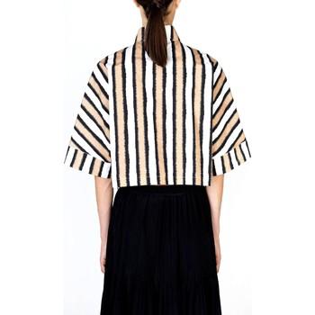 Abbigliamento Donna Camicie Alysi Creme 101222 P1024 Multicolore