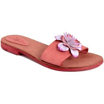 Scarpe Donna Ciabatte Summery  Rosso