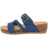 Scarpe Donna Sandali Summery  Blu