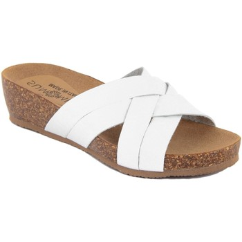 Scarpe Donna Ciabatte Summery  Bianco