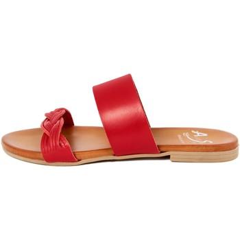 Scarpe Donna Ciabatte Alissa  Rosso