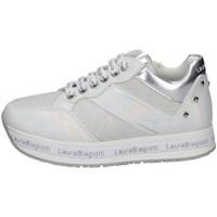 Scarpe Bambina Sneakers basse Laura Biagiotti 7080 BIANCO