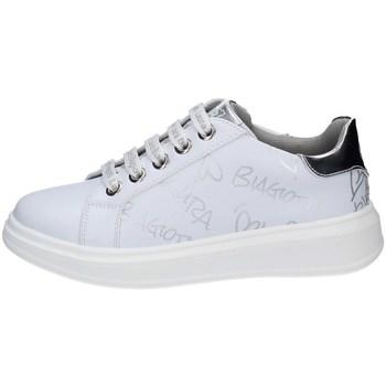 Scarpe Bambina Sneakers basse Laura Biagiotti 7061 BIANCO