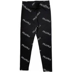 Abbigliamento Bambina Leggings Fila 683325-002 NERO