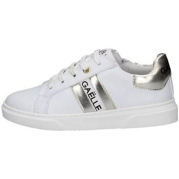 Scarpe Bambina Sneakers basse GaËlle Paris G-622 BIANCO