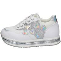 Scarpe Bambina Sneakers basse Asso AG-10400 BIANCO