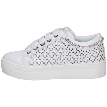 Scarpe Bambina Sneakers basse Asso AG-10352 BIANCO