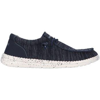 Scarpe Uomo Mocassini Café Noir TM9700 Sneaker  Uomo Blu