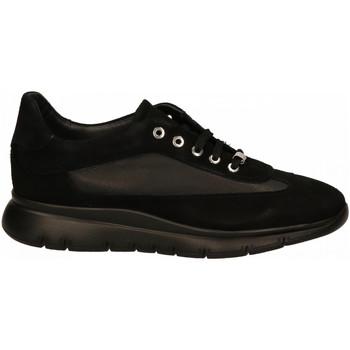 Scarpe Donna Sneakers basse Frau CAMOSCIOmousse nero