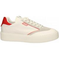 Scarpe Uomo Sneakers basse 4Us-Cesare Paciotti 4US bianco-rosso