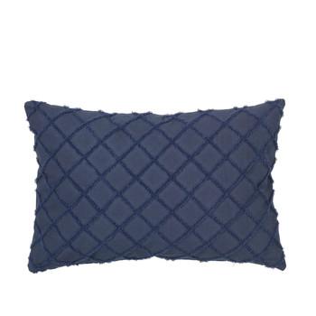 Casa Fodere per cuscini Broste Copenhagen MAGNE Blu / Nuit