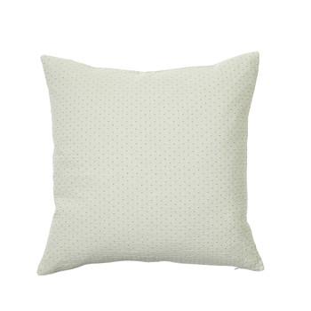 Casa Fodere per cuscini Broste Copenhagen DOT Bianco