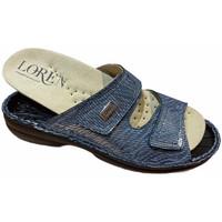 Scarpe Donna Ciabatte Calzaturificio Loren LOM2829sjeans blu