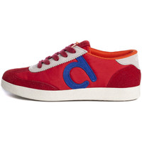 Scarpe Donna Sneakers basse Duuo Nice 037 Rosso