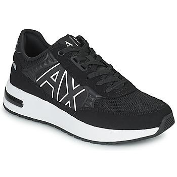 Scarpe Uomo Sneakers basse Armani Exchange MALIKA Nero / Bianco