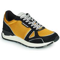 Scarpe Uomo Sneakers basse Emporio Armani TREMMA Nero / Giallo
