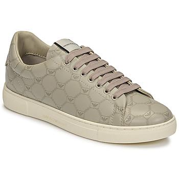 Scarpe Donna Sneakers basse Emporio Armani DANSSE Beige / Bianco
