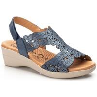 Scarpe Uomo Espadrillas Morxiva Shoes  Bleu