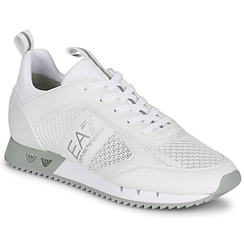 Scarpe Sneakers basse Emporio Armani EA7 BLACK&WHITE LACES Bianco