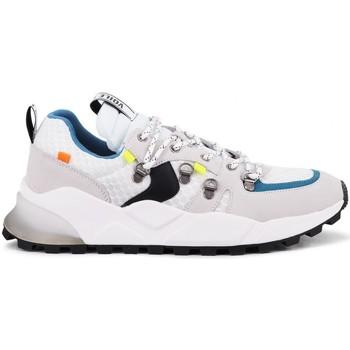 Scarpe Uomo Sneakers Voile Blanche Club10 Bianco Bianco
