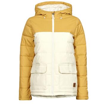 Abbigliamento Donna Piumini Rip Curl ANTI SERIES RIDGE JACKET Beige / Mostarda