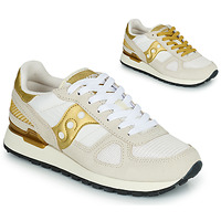 Scarpe Donna Sneakers basse Saucony SHADOW ORIGINAL Bianco / Oro