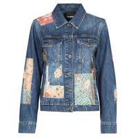 Abbigliamento Donna Giacche in jeans Desigual JAPO PATCH Blu