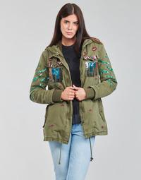 Abbigliamento Donna Parka Desigual FLIX Kaki