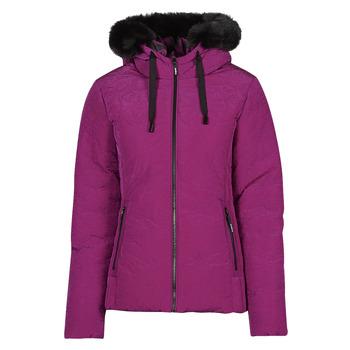 Abbigliamento Donna Piumini Desigual SNOW Rosa