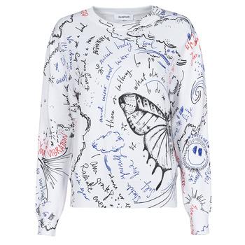 Abbigliamento Donna Maglioni Desigual BOSTON Bianco